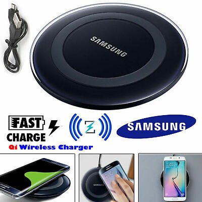 Genuine Samsung Galaxy S7 S8 S9+ Wireless Fast Charger Charging Stand Dock Pad