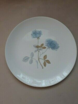 Wedgwood China Dinner Plates Ice Rose. 27Cms. Good Cond.