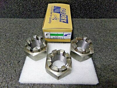 3 Hexagon Slotted And Castle Nut Din 935-1 Steel Right Plain 4 M45 (Dc)