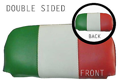 DBL Italain Flag Flag Back Rest Cover (Purse Style) Vespa/Lambretta