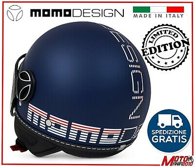 Casco Made In  Italy Momo Momodesign Fgtr Classic Limited Edition Da Xs A Xl