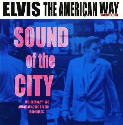 Rare Cd Import Elvis Presley- The American Way Iv Sound Of The City - Madison