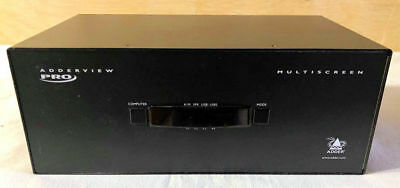 Adderview AV4PRO 4 PORT USB / DVI KVM SWITCH - QUAD SCREEN