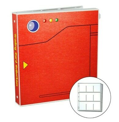 Pokedex Themed Album for Pokemon Trading Cards, w/ 25 Pages, Holds 225 Cards