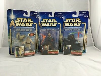 """Star Wars Hasbro Attack of the Clones & Revenge of the Sith 3.75"""" Action Figures"""