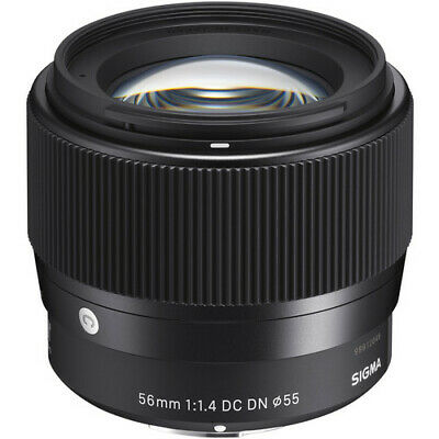 Sigma 56mm f/1.4 DC DN Contemporary Lens for Sony E - UK Stock