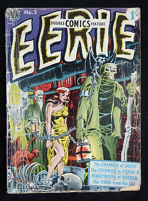 EERIE #2 - British Shilling Edition - Avon Publication - July 1951 GD+ 2.5