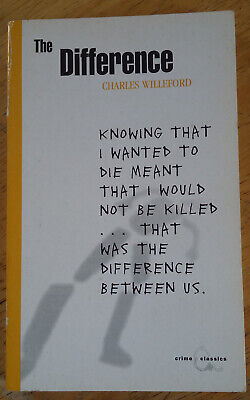 Charles Willford: The Difference (Canongate, 2001) [Very Good]