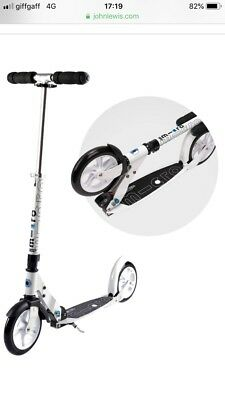 Micro White Adult Scooter