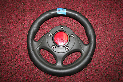 Gaelco Original Steering Wheel For An Arcade Driving Game #3