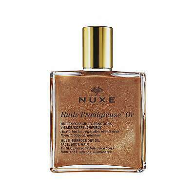 NUXE Huile Prodigieuse Or - Multi Usage Dry Oil - Gold Shimmer 50ml #6629 NO BOX
