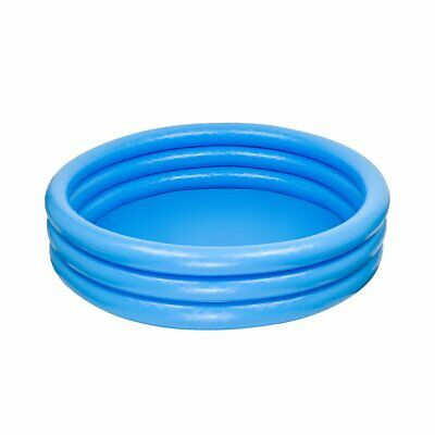 Intex 59416NP Crystal Blue Three Ring Inflatable Paddling Pool 1.14m x 25cm NEW