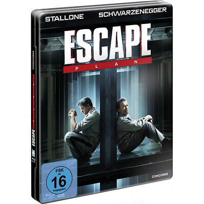 Stallone Schwarzenegger ESCAPE PLAN Limited Steelbook FuturePak Uncut BD Blu-ray