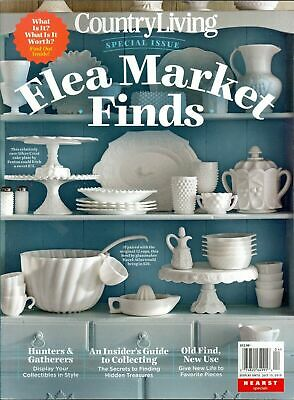 ❤NEW! COUNTRY LIVING MAGAZINE Flea Market Finds SPECIAL ISSUE May June July 2019