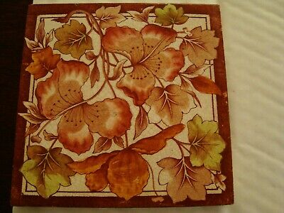 Antique aesthetic floral print & tint tile 19/96