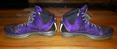 ab8384fc2f79 Adidas D Rose 3 Nightmare Before Christmas Size 10 Mens Basketball Purple  Black