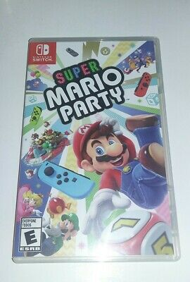 Super Mario Party (Nintendo Switch) Authentic Replacement Case - NO GAME