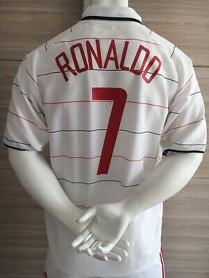 bed486636f4 MAILLOT JERSEY   manchester united   ronaldo   2003 2004 2005   M ...