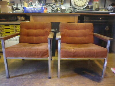 Pair of 1960,s / 1970,s Salon Chairs...
