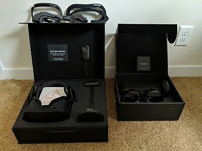 Oculus Rift Virtual Reality Headset Touch Bundle MINT VR Cover Incl. MUST SEE!!!