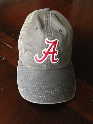 brand new 106bc 0f988 Nwot Ncaa Alabama Crimson Tide Top Of The World Unisex Cap Hat Olive   Red