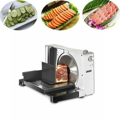 Electric Food Slicer Fruit Lamb Slices Shred Cut Meat Planing Machine 1-15MM Hot