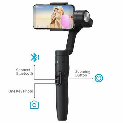 Used Feiyu Vimble 2 3-Axis Handheld Gimbal Built-In Extender for Smartphone