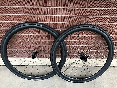 944f28a61ec Cannondale Hollowgram SI Carbon Tubeless Ready Clincher Rim Brake Road  Wheelset
