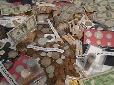 Antique Coin Lot- Gold, Silver, Bullion,Currency,Hoard,Coins, Estate -10 Items