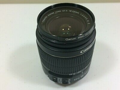 Canon EF-S 18-55mm f/3.5-5.6 IS II Lens With UV Filter (READ DESCRIPTION)