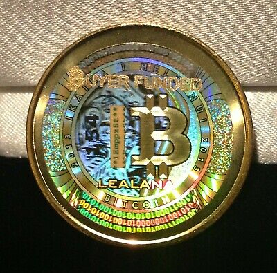 Unfunded/no loaded value- LEALANA 2013 bit coin .1 BTC -like lite coin CASASCIUS