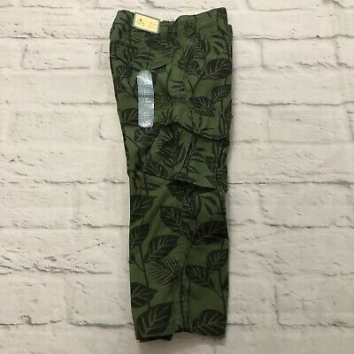 New $26 Baby Gap Toddler Boys Cargo Pants Size 2 Years Olive Green Never Worn