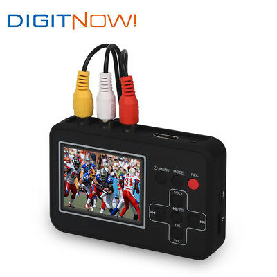 VHS to DVD Recorder Video to Digital Converter Capture from VCR Hi8 Camcorder