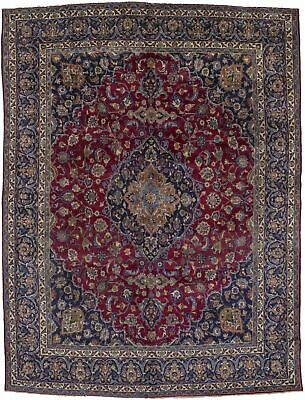 Semi Antique Classic Design 10X13 Vintage Persian Rug Oriental Home Décor Carpet