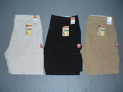 bc1212ca55 NWT Wrangler Big & Tall Mens Relaxed Fit Cargo Shorts - U Pick Color + Size