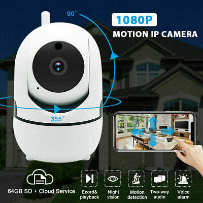 1080P FHD Wireless WiFi Home Security IP Camera IR Night Vision Webcam For Baby