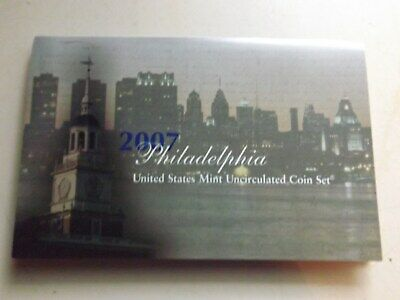 2007 Philadelphia United States Mint Uncirculated Coin Set