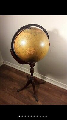 Vintage Philips Terrestrial Globe With Stand