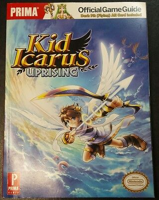 KID ICARUS UPRISING Prima Official Game Guide Nintendo 3DS