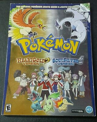 Pokemon HeartGold & SoulSilver Version Official Johto Guide & Pokedex Volume 1