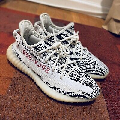58d777806 FREE SHIPPING  ADIDAS Yeezy Boost 350 V2 Zebra Dead Stock
