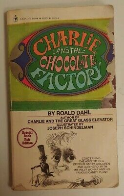 1973 Charlie and the Chocolate Factory by Roald Dahl Special Book Fair Edition