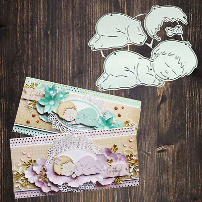 1x Metal Cutting Dies Scrapbooking Decoration Craft Baby Card Making Mold Hot