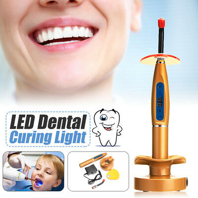 Dental Wireless Cordless LED Curing Cure Light Lamp 5W 2000mw Tool For
