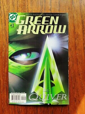 Green Arrow #1 Quiver Part One, DC Comics 2001, Kevin Smith, Hester, Parks, VF+