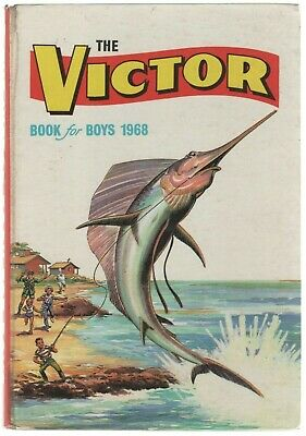 The Victor Book for Boys 1968 (Hardback Annual)