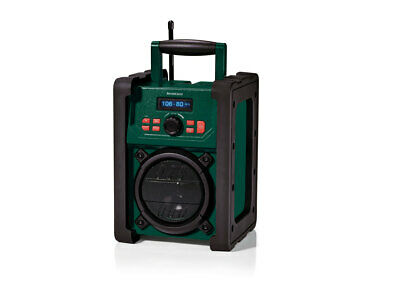 Worksite Digital Rugged Waterproof DAB Portable Radio Weather Construction Home