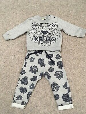 Kenzo baby boy jumper and trousers 18 months