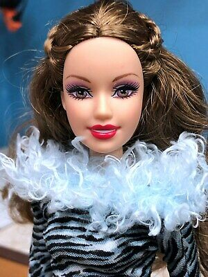 Barbie Doll Fashion Fever Doll Animal Print Collection Mattel