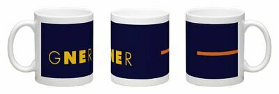 GNER INSPIRED STICKERS x 4 NEW GREAT NORTH REASTERN RAILWAY LNER CLASS 91 43 125